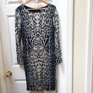 Reiss Cheetah Sweater Dress nineteen seventy one